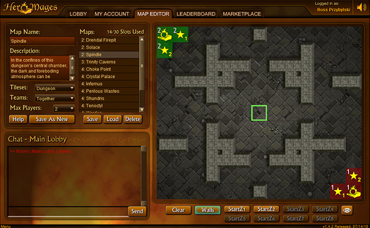 Map Editor Interface